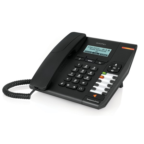 Temporis IP 150 SIP PoE black ALCATEL BUSINESS