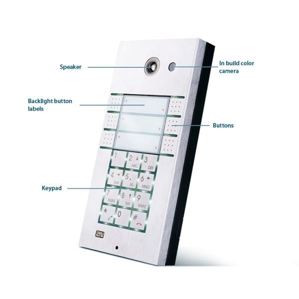 2N Helios IP 6 tasti + tastiera 2N