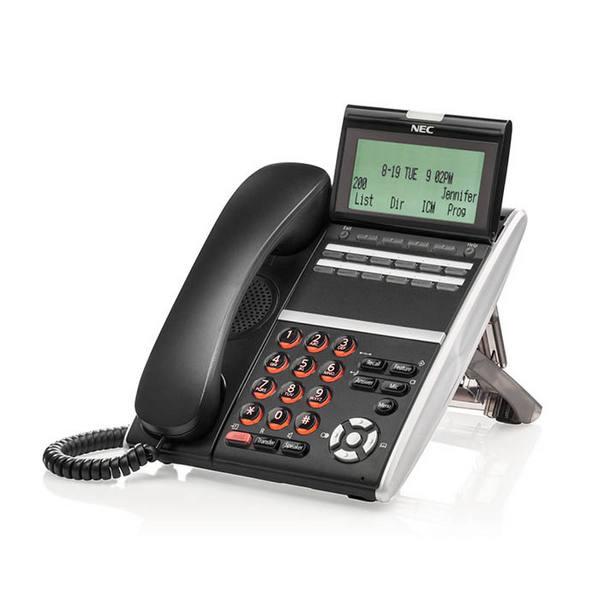 TELEFONO NEC DT430 12 TASTI NERO NEC