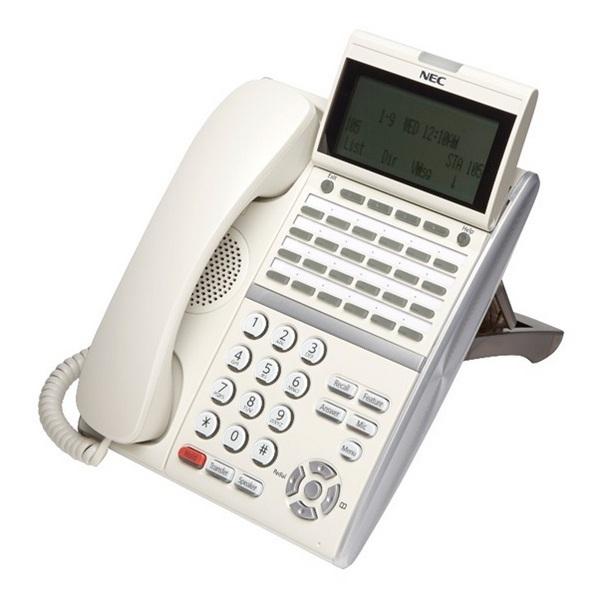 TELEFONO NEC DT430 24 TASTI BIANCO NEC