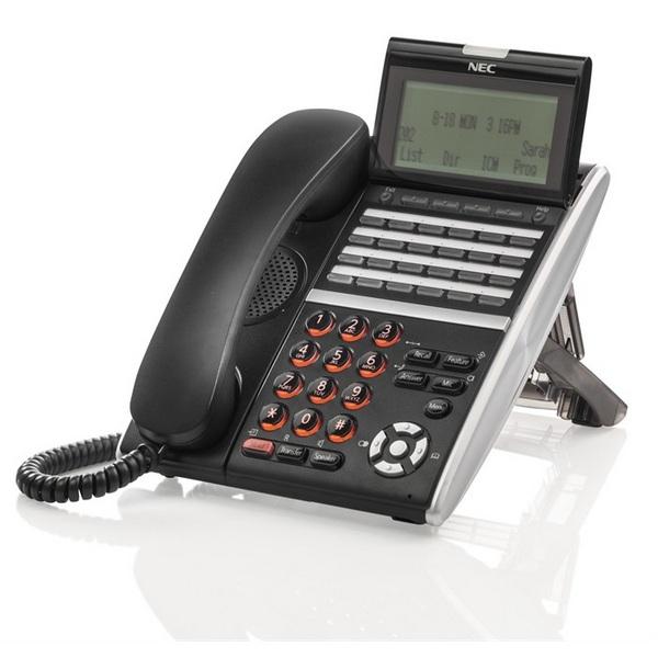 TELEFONO NEC DT430 24 TASTI NERO NEC