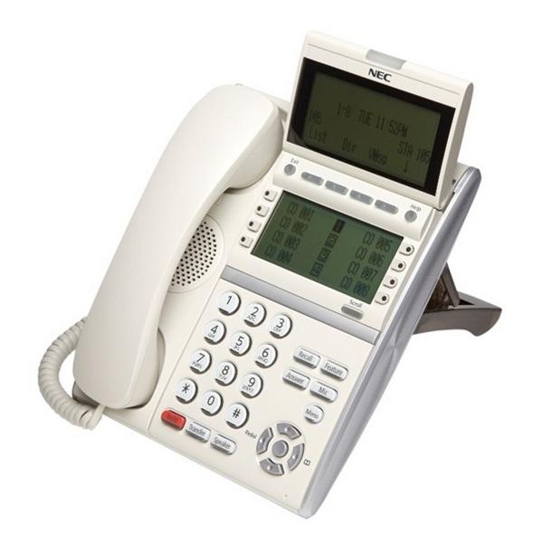 TELEFONO NEC DT430 2 DISPLAY BIANCO NEC