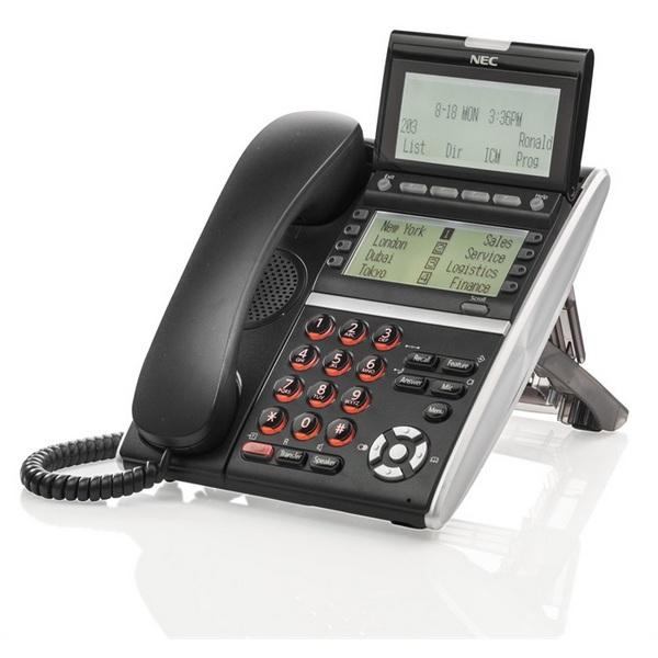 TELEFONO NEC DT430 2 DISPLAY NERO NEC