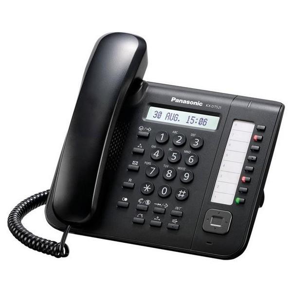 KX-DT521 8 TASTI NERO Panasonic