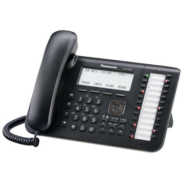 KX-DT546 24 TASTI NERO Panasonic
