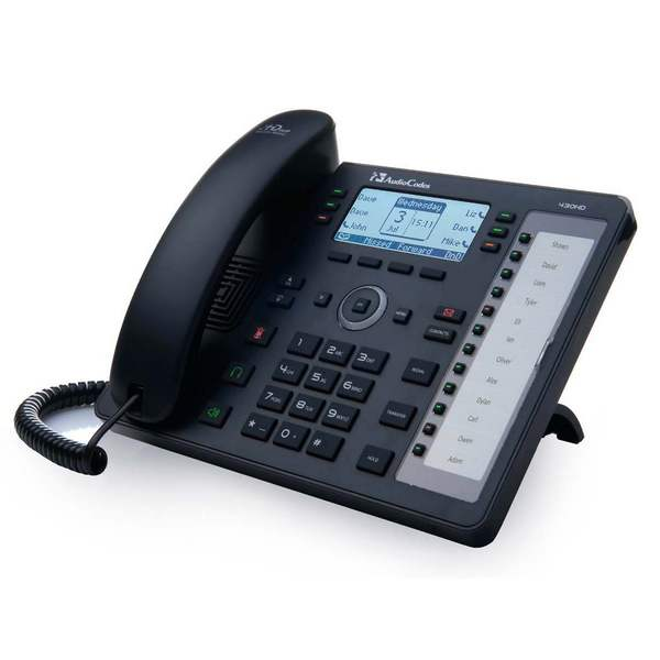 430HD IP-Phone PoE AUDIOCODES