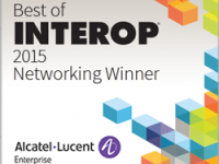 "ALE vince il ""Best of Interop 2015 Award"""